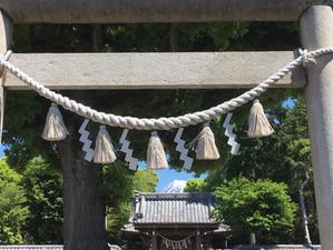 富士山東泉院日吉浅間神社 春の神事の際