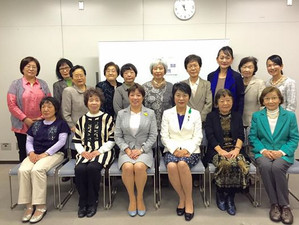 大学女性協会静岡支部総会〜社会情勢に話しはつきない