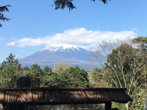 富士山と、北斎