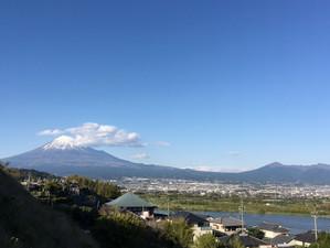 富士山 富士川側より
