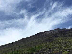 富士山新五合目から