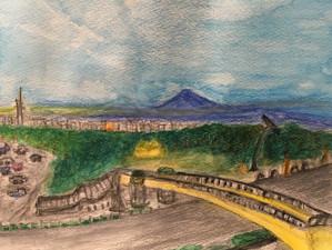 富士山〜ロゼシアターから