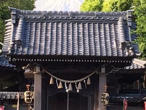 富士山東泉院日吉浅間神社から