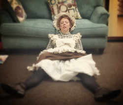 Pooped Mrs Brill