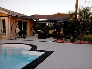 gravillons terrasse