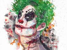 受 _gentlemehk 邀請為#有心無默 創作小說小丑魔潮畫既插畫👻自己很