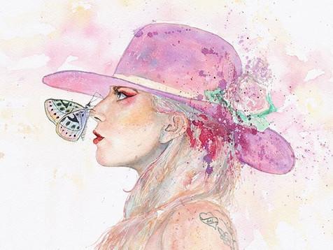 🌸🦄 _ladygaga_歌手不能只有臉,能唱才是重點~_有臉有才有實力還敢