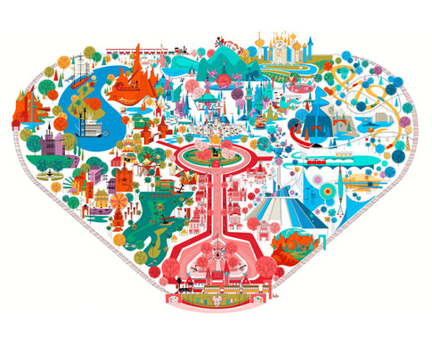 Disneyland Fun Map
