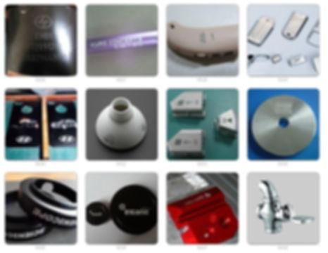Lazer markalama uygulamaları temassız,bakım ve sarf malzeme gerektirmeyen üstün avantajlarıyla bir çok sanayi ürününde kullanılmaktadır