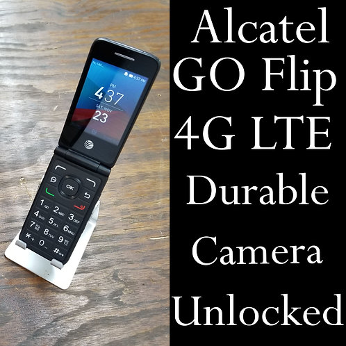 "Alcatel 40440 - 4GLTE -  Flip phone - Unlocked - 2.80"" - Bluetooth"