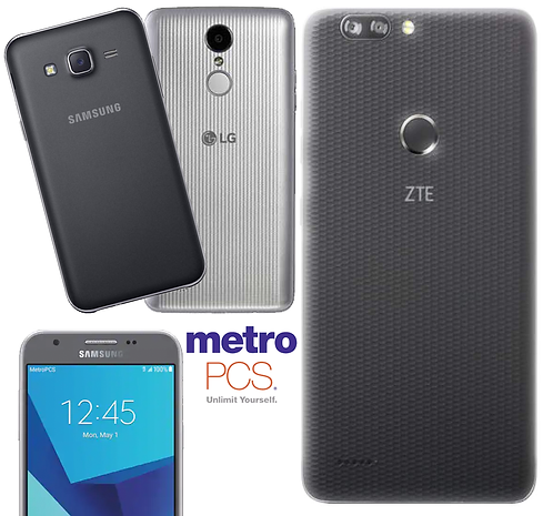 MetroPCS or T-Mobile Android Phones