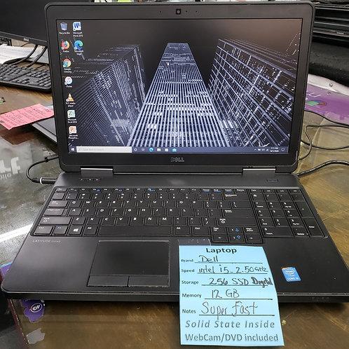 Dell Latitude E5540 - Intel Core i5 - 12 gb ram  -  256 gb SSD