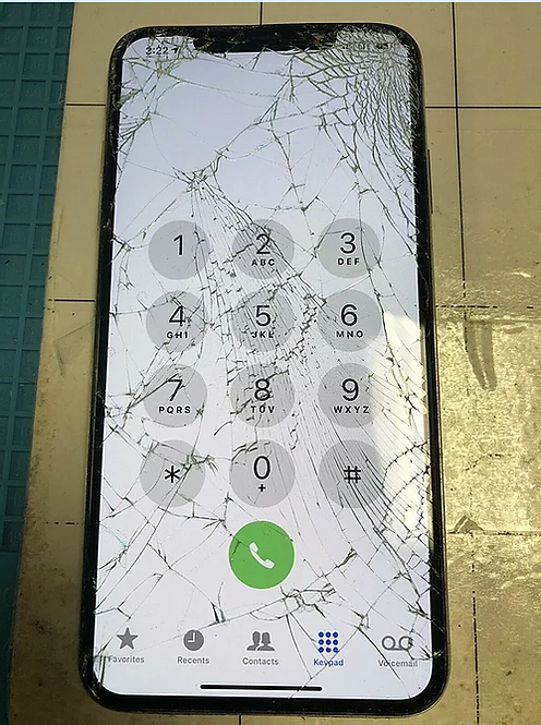 Front GLASS ONLY Replacement service iPhone X & newer
