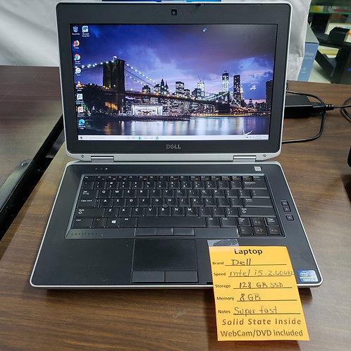 Dell Latitude E6430 - Intel Core i5 - 8 gb  ram  - 128 gb SSD