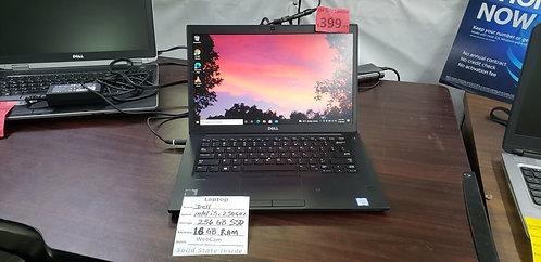 Dell Latitude  7480   i5 / 16 gb ram  / 256 gb  SSD