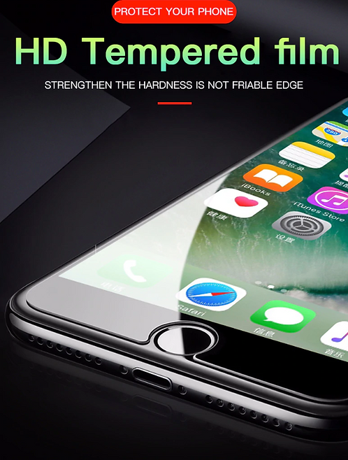 Premium Nanopolymer Designed Tempered Glass Screen Protector for iPhone