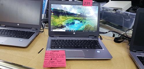 HP ProBook  intel i5  / 8 gb ram / 256 gb SSD