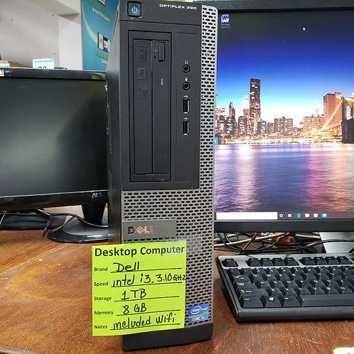 DELL OPTIPLEX 390   Desktop - INTEL i3 - 8 GB  RAM- 1 TB  HD