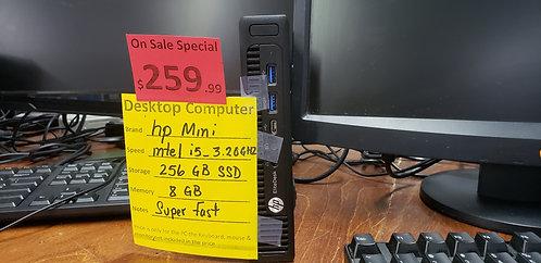Desktop Hp Mini  i5 / 8 gb ram  / 256 gb SSD
