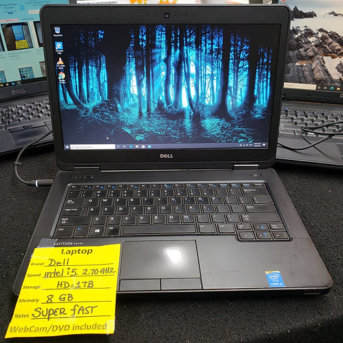 Dell Latitude E5440 - Intel Core i5 - 8 gb - 1 TB HD