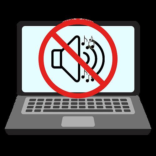 Laptop No Sound