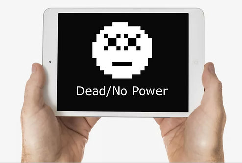 Dead/No Power iPad When brought to us