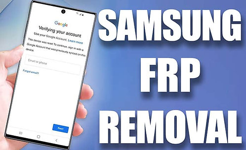 Google FRP / Google ID Email Lock Removal Service
