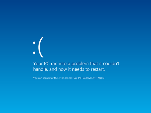 Frequent Crashes, or Blue Screen (No Data)