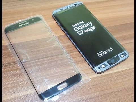Samsung Galaxy S7 Edge Glass Only Replacement