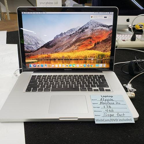 Apple MacBook Pro - Intel Core i5 - 4 gb ram - 1 TB HD