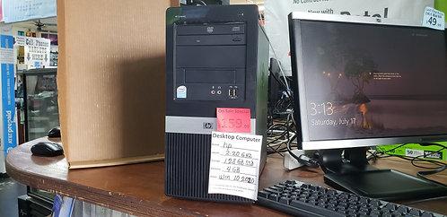Desktop Hp Compaq  / 4gb ram  / 128 gb SSD