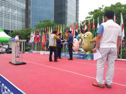 인천실내무도아시아경기대회 입촌식