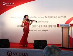 베올리아 아시아 산업기술 & 교육센터 개관식