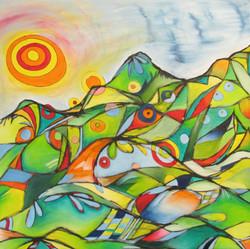 Sunburst Hillside  (Sold)