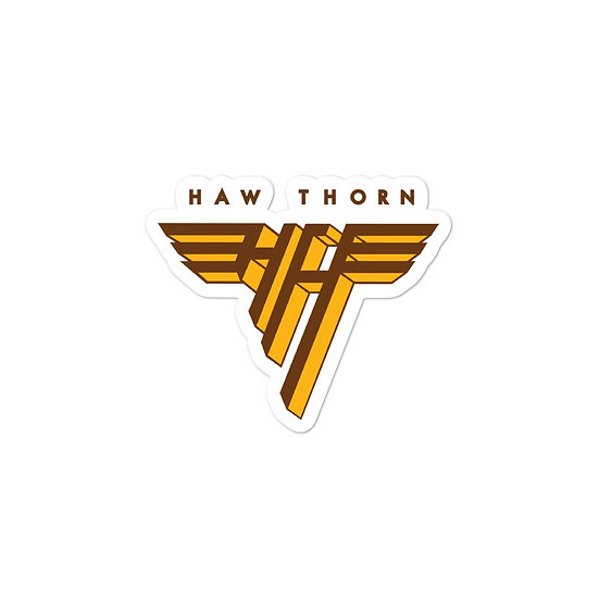 Haw Thorn Bubble-free stickers