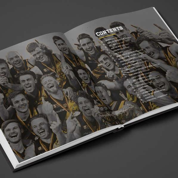Glenelg Football Club 2019 Premiership Yearbook