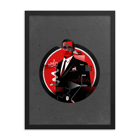 Mad Men Framed Poster