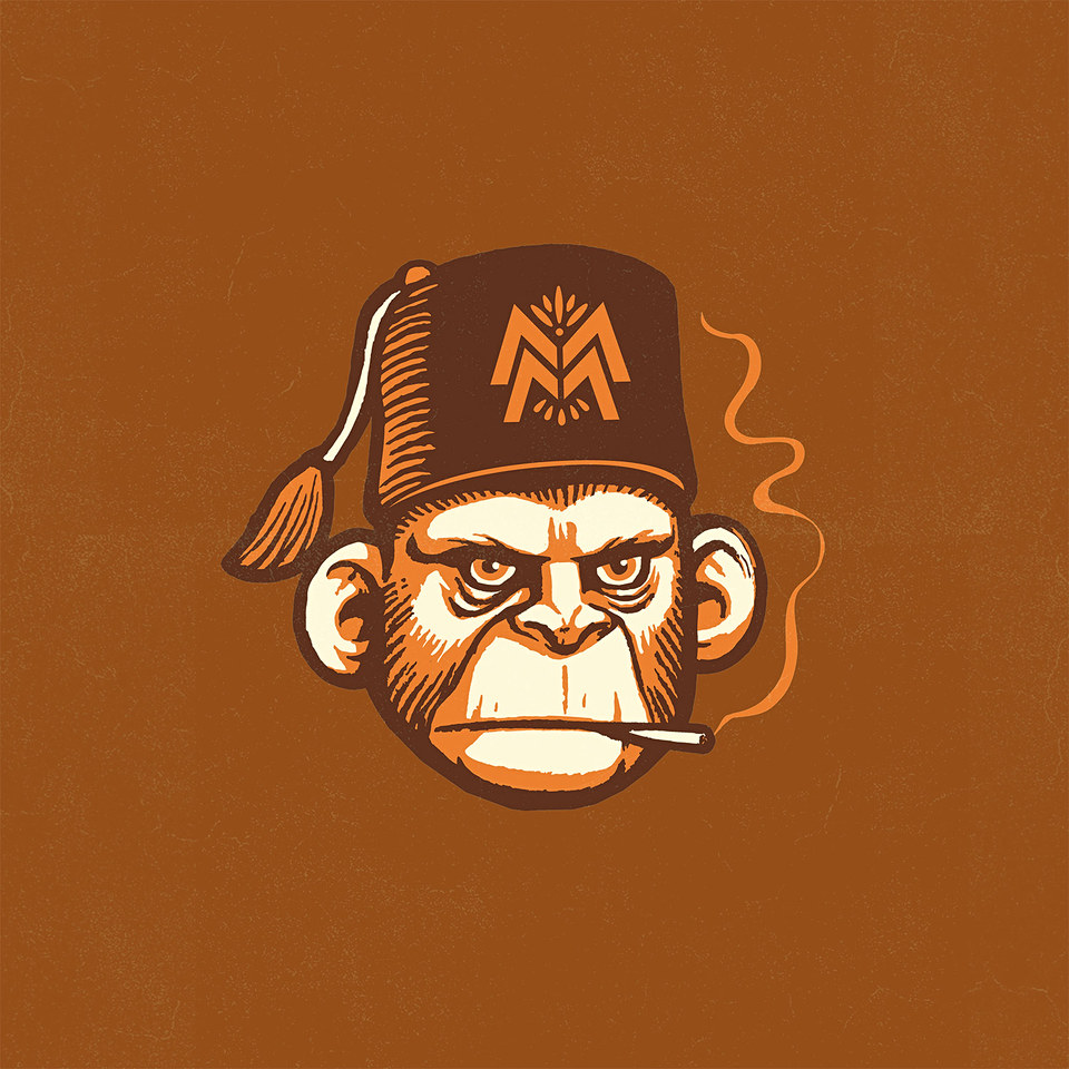 Mad Monkey Distillery Branding