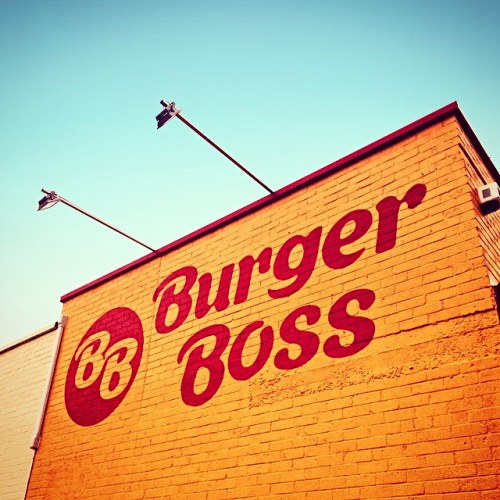 Burger Boss Branding and Packaging