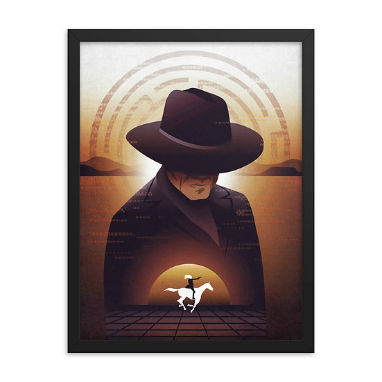 Westworld Season One Framed Poster