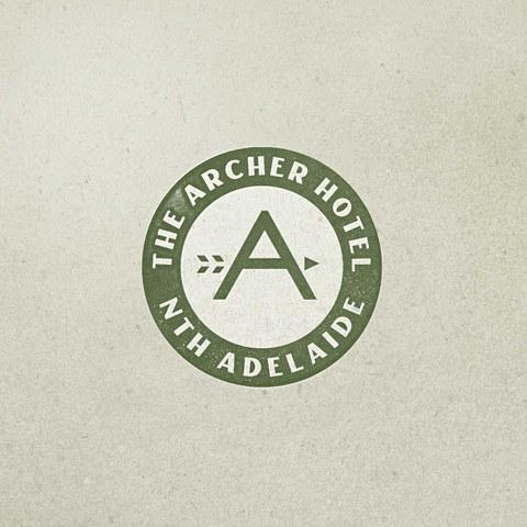 The Archer Hotel Logo Design