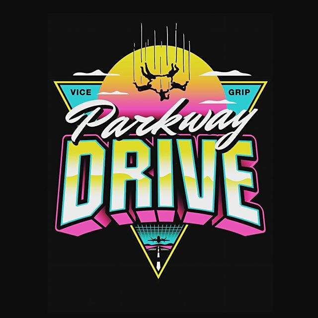 Parkway Drive Apparel Design