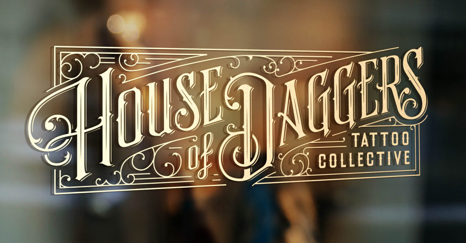 House of Daggers Logo Design