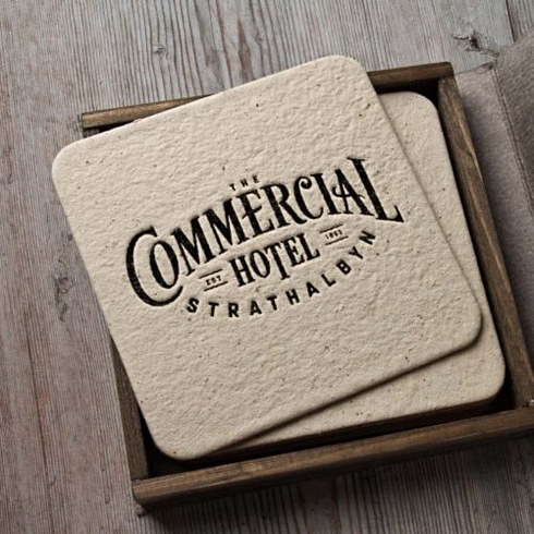 The Commerical Hotel Branding