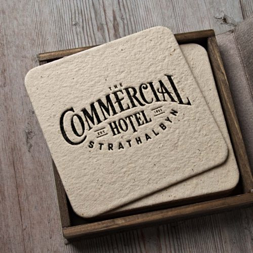 The Commerical Hotel Branding