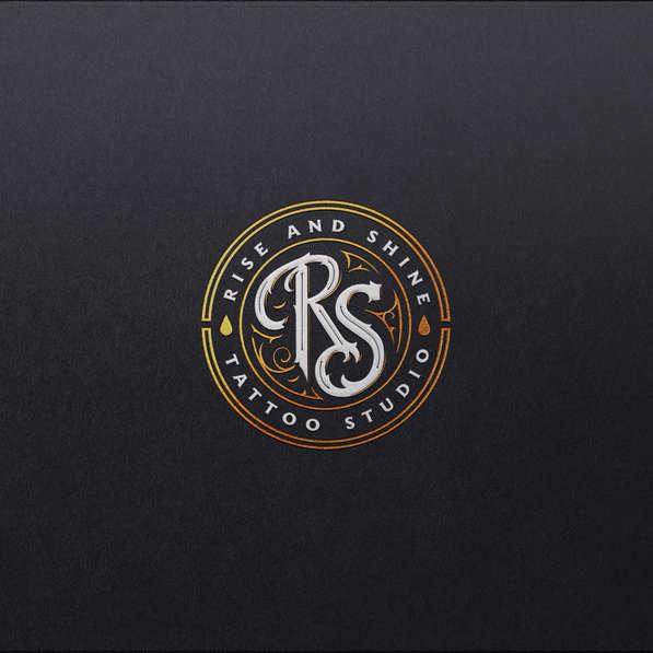 Rise & Shine Tattoo Studio Logo