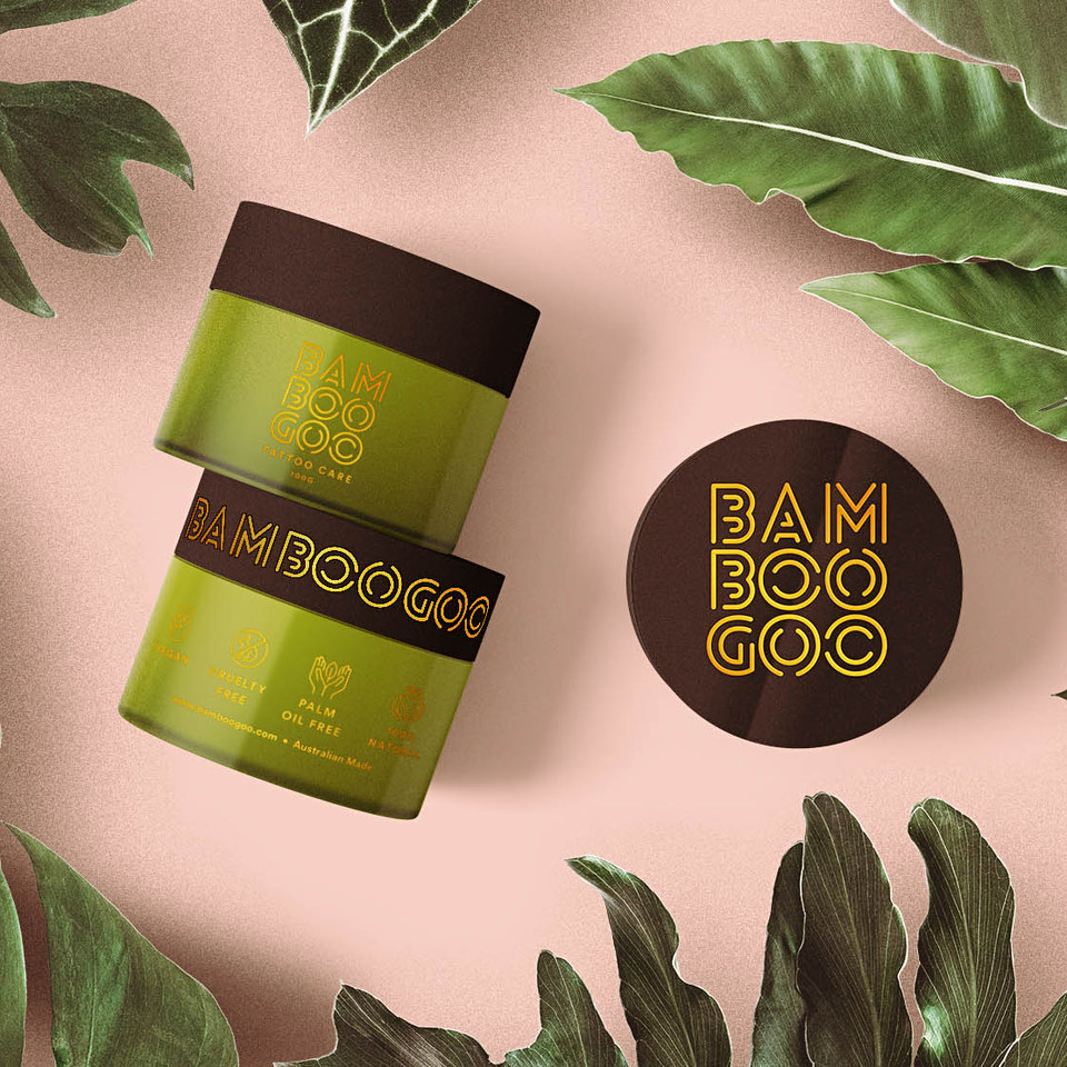 Bamboogoo Tattoo Care Branding and Packaging