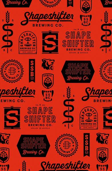 Shapeshifter Brewing Co Branding