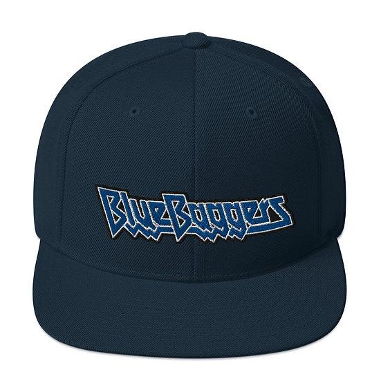 Blue Baggers Snapback Hat