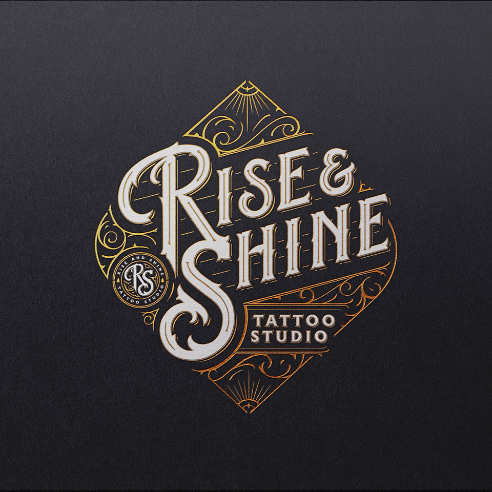 Rise & Shine Tattoo Studio Logo
